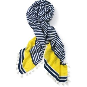 Stella and dot scarf with tassels